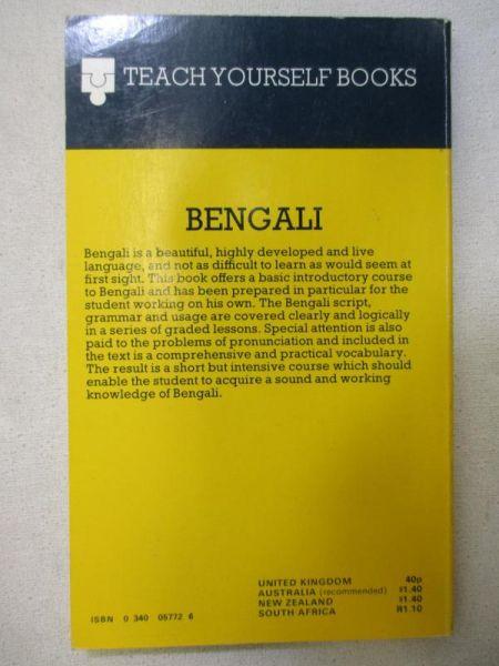 Teach Yourself Books. Bengali