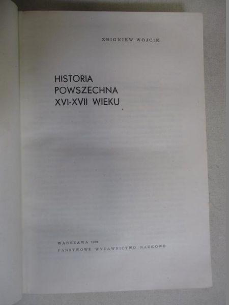 Historia powszechna XVI-XVII wieku