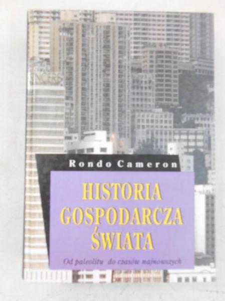 Cameron Rondo -  Historia gospodarcza świata