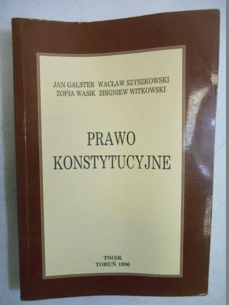 Galster Jan - Prawo konstytucyjne