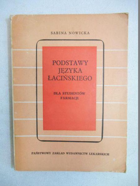 Podstawy języka łacińskiego