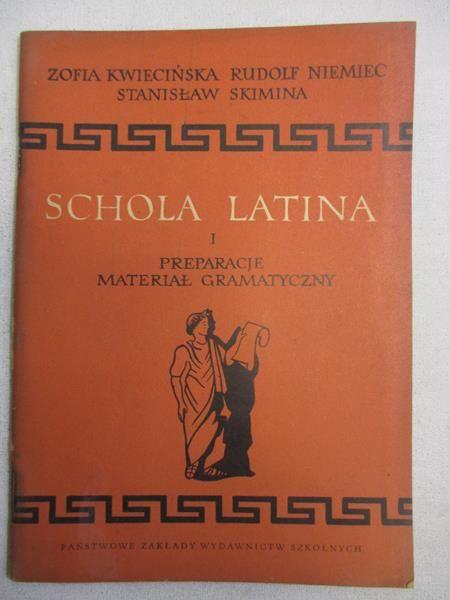 Schola Latina, cz. I