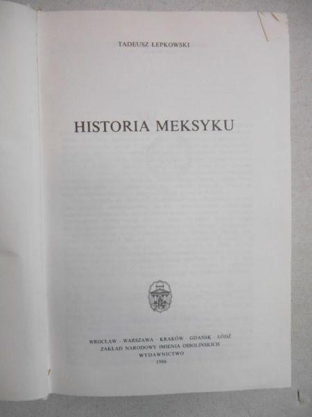 Historia Meksyku
