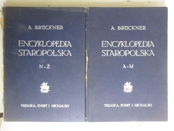 Encyklopedia staropolska. Tom I-II, 1939 r.