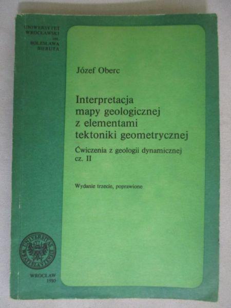 Interpretacja mapy geologicznej z elementami tektoniki