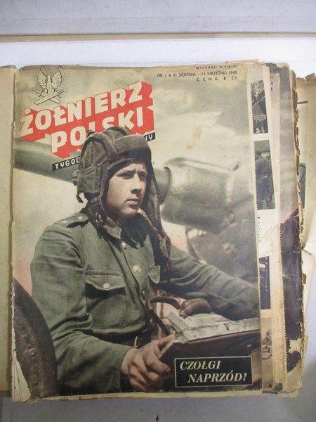 żołnierz Polski Tygodnik Ilustrowany Komplet Numerów Z Lat