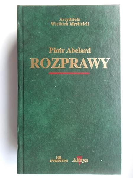 Abelard Piotr  - Rozprawy