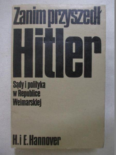 Hannover H. I E. - Zanim przyszedł Hitler
