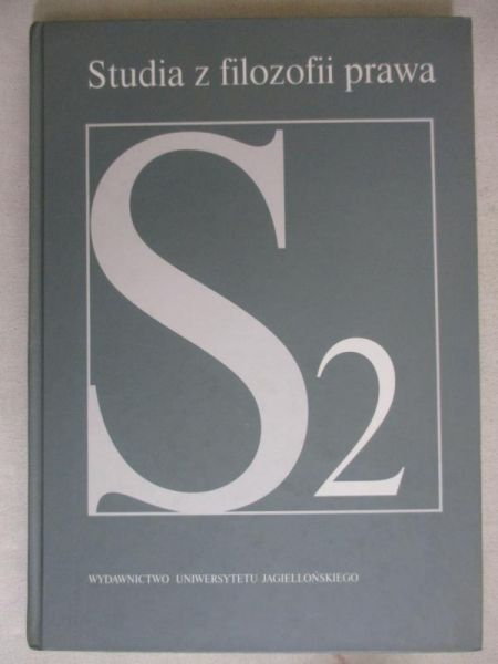 Stelmach Jerzy (red.) - Studia z filozofii prawa, T. II