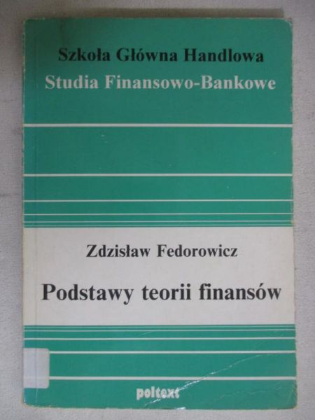 Podstawy teorii finansów