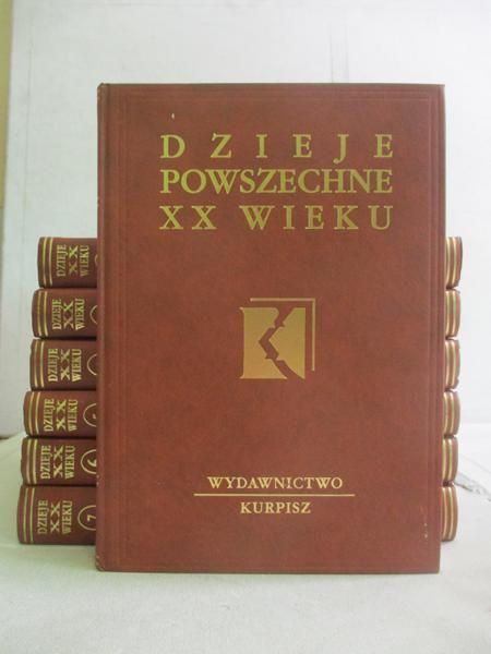 Dzieje powszechne XX wieku, t. I-VII