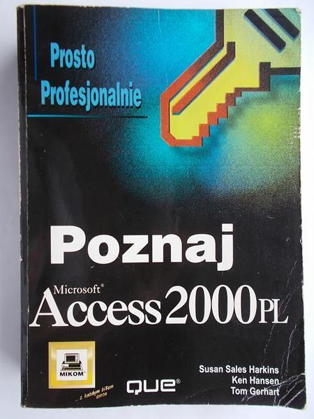 Harkins Susan - Poznaj Microsoft Access 2000 PL
