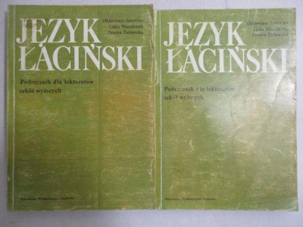 Język łaciński. Podręcznik dla lektoratów szkół wyższych, cz. 1-2