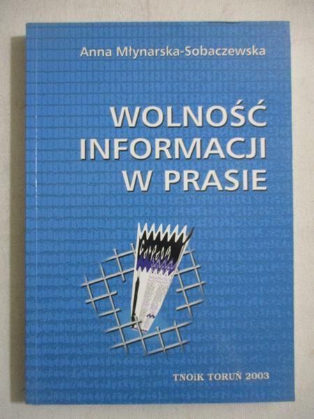 Wolność informacji w prasie