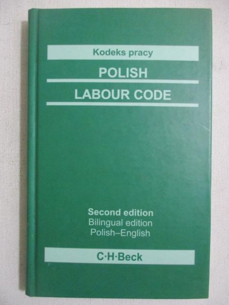Kodeks pracy. Polish Labour Code