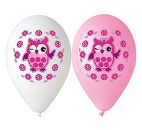 Balony Premium Sówka 5 sztuk