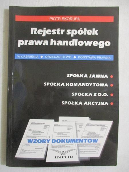 Rejestr spółek prawa handlowego