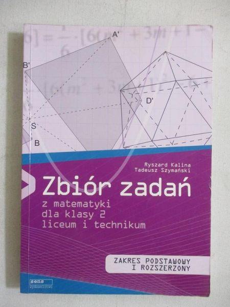 Zbiór zadań z matematyki dla klasy 2 liceum i technikum