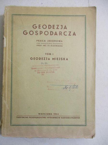 Geodezja gospodarcza, t. 1