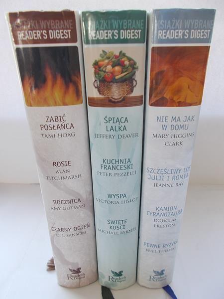 Książki Wybrane Readers Digest Zestaw 3 Książek Praca