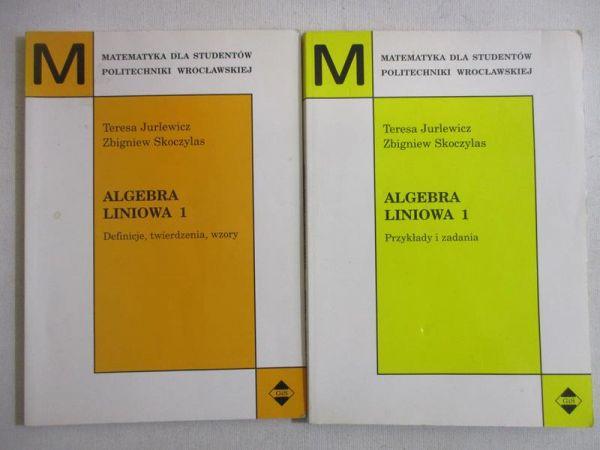 Algebra liniowa 1, Definicje, twierdzenia i wzory / Przykłady i zadania