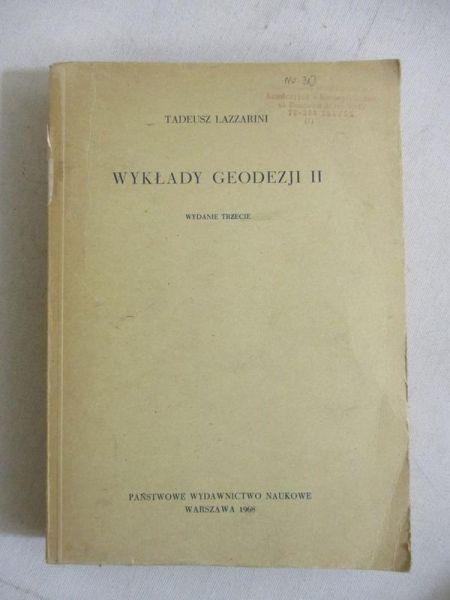 Wykłady gedezji II