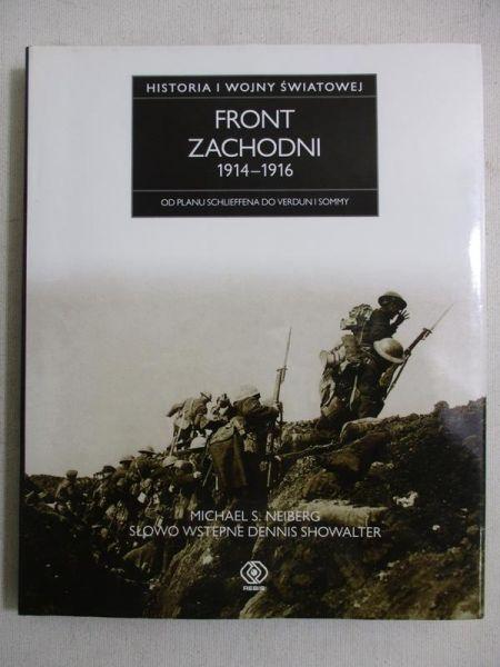Historia I wojny światowej. Front zachodni 1914-1916