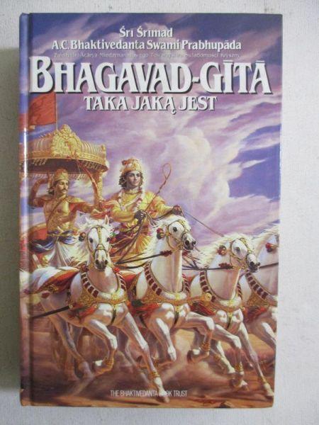 Srimad Sri - Bhagavad-Gita taka jaką jest
