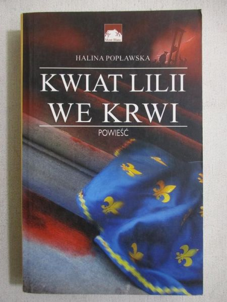 Kwiat lilii we krwi