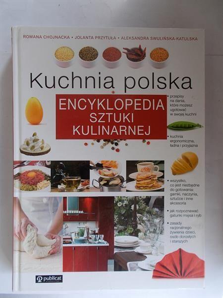 Chojnacka Romana Kuchnia Polska Encyklopedia Sztuki