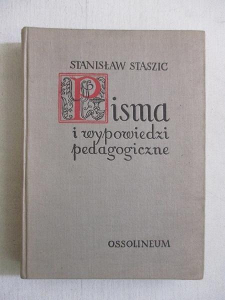 Pisma i wypowiedzi pedagogiczne