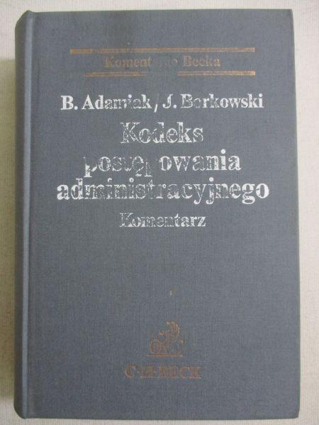 Adamiak B. - Kodeks postępowania administracyjnego