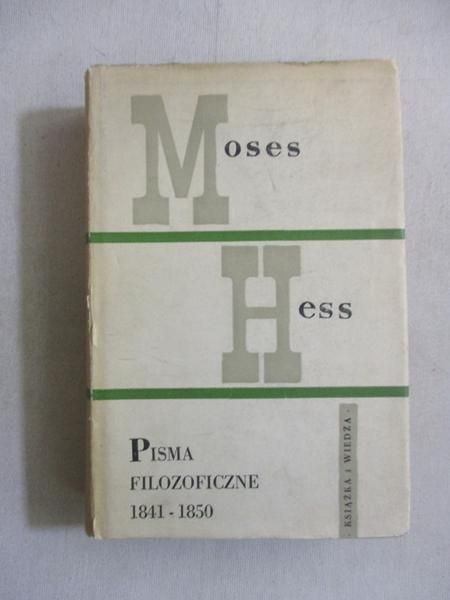 Pisma filozoficzne 1841-1850