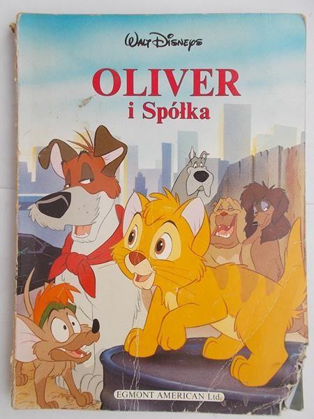 Olivier I Spółka Disney Praca Zbiorowa 700 Zł