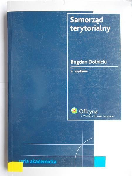 Dolnicki Bogdan - Samorząd terytorialny
