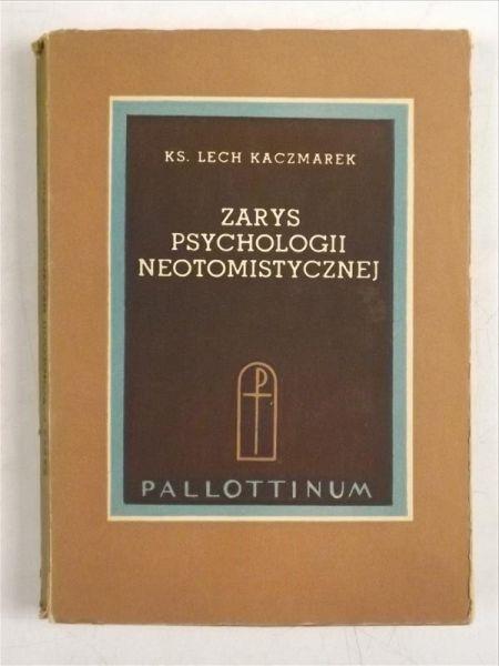 Zarys psychologii neotomistycznej
