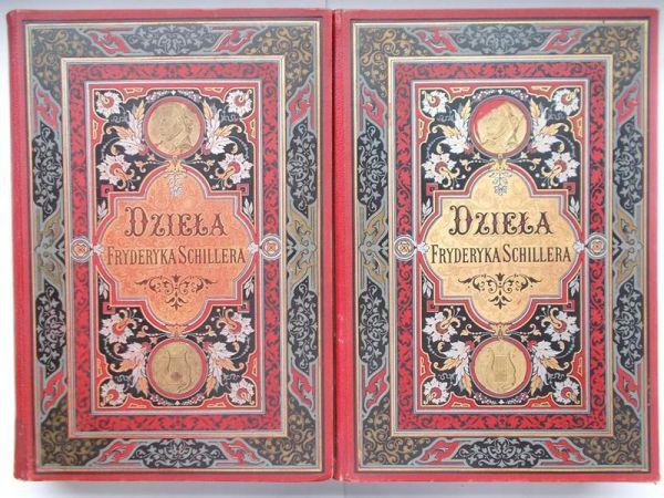 Dzieła poetyczne i dramatyczne. Tom I-II, 1885 r.