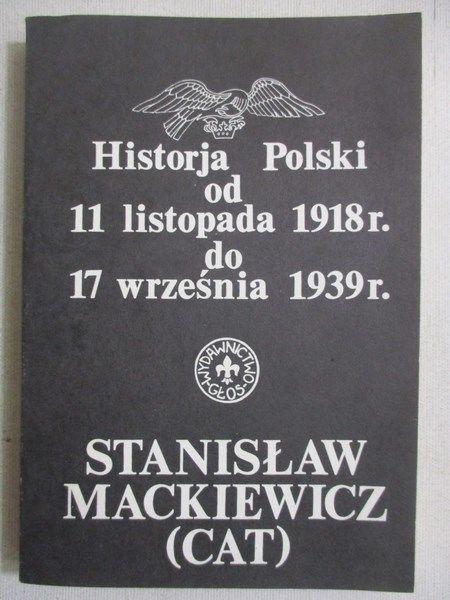 (Cat)  - Historja Polski od 11 listopada 1918 r. do 17 września 1939 r.