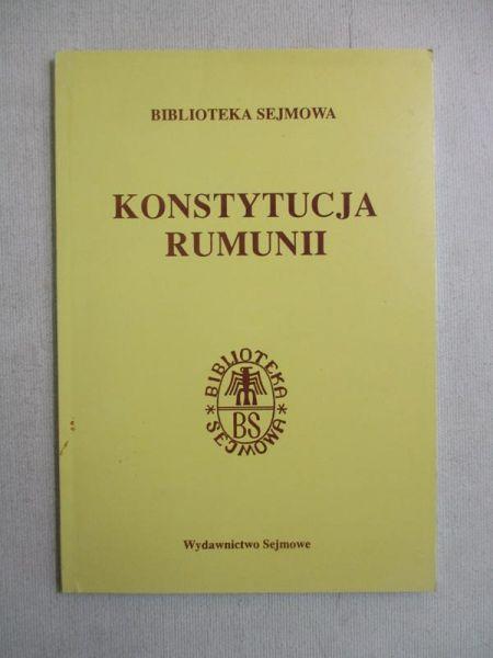 Konstytucja Rumunii