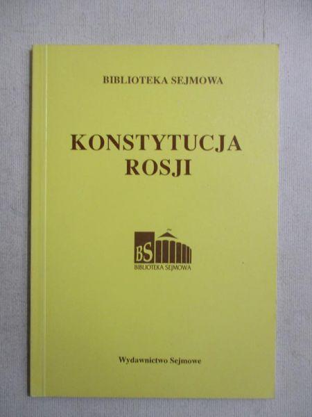 Konstytucja Rosji