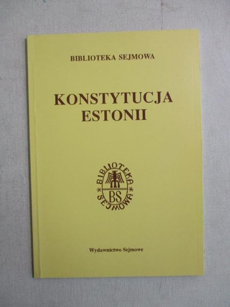 Konstytucja Estonii