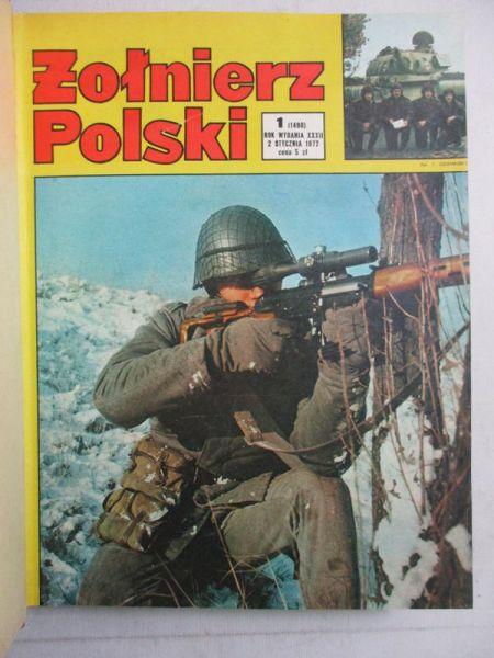 Czasopismo żołnierz Polski 1977 Nr 1 52 Praca Zbiorowa