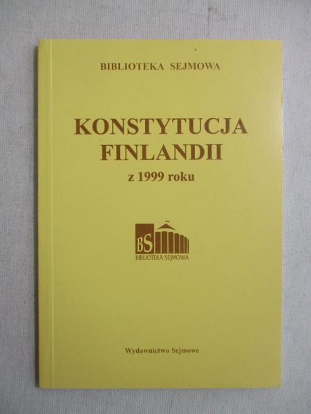 Konstytucja Finlandii z 1999 roku