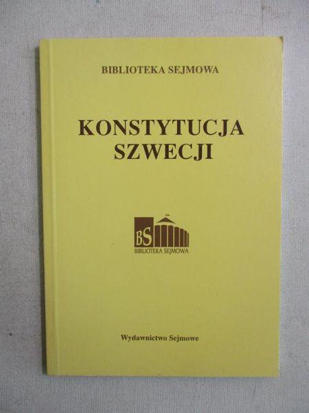 Konstytucja Szwecji