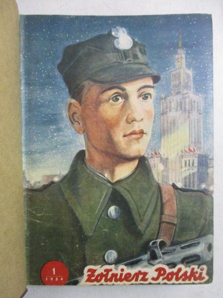 Czasopismo żołnierz Polski 1954 Nr 1 24 Praca Zbiorowa