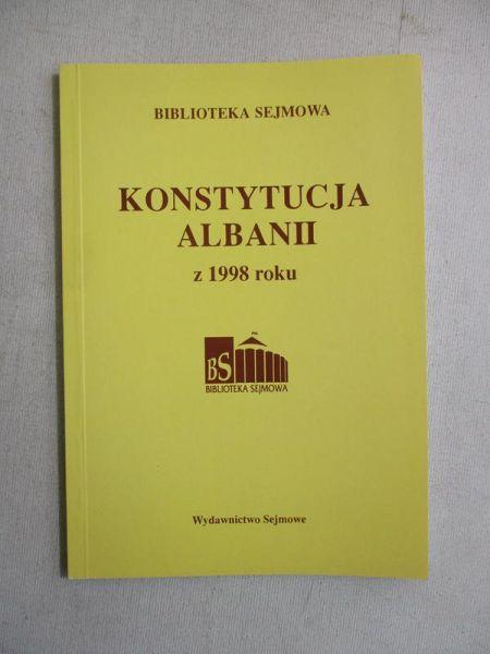 Konstytucja Albanii