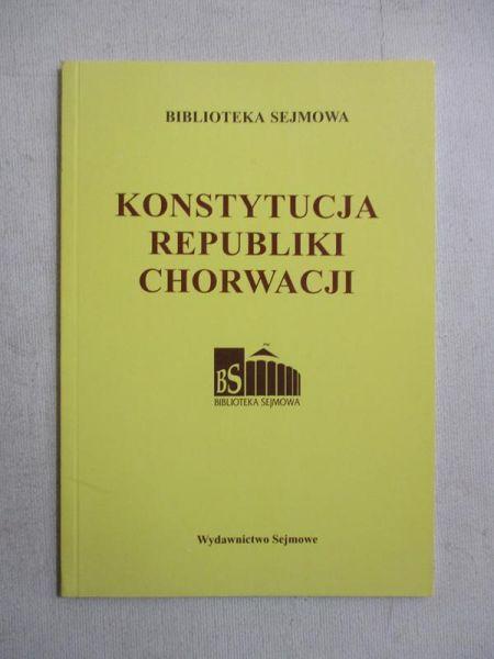 Konstytucja Republiki Chorwacji