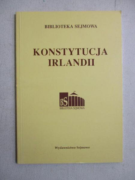 Konstytucja Irlandii