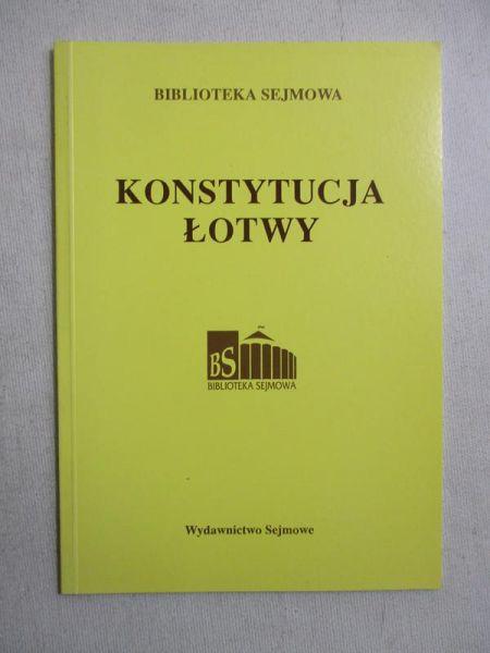 Konstytucja Łotwy