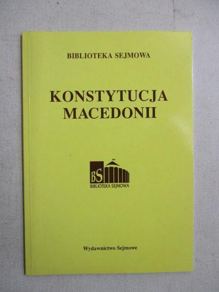 Konstytucja Macedonii